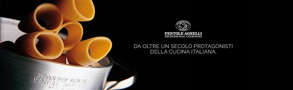 22 cm Pentole Agnelli COFE3006T22 Ferro Padella Lionese Leggera