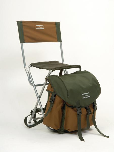 Shakespeare Deluxe Rucksack Chair - Brown/Green: Amazon.co.uk ...