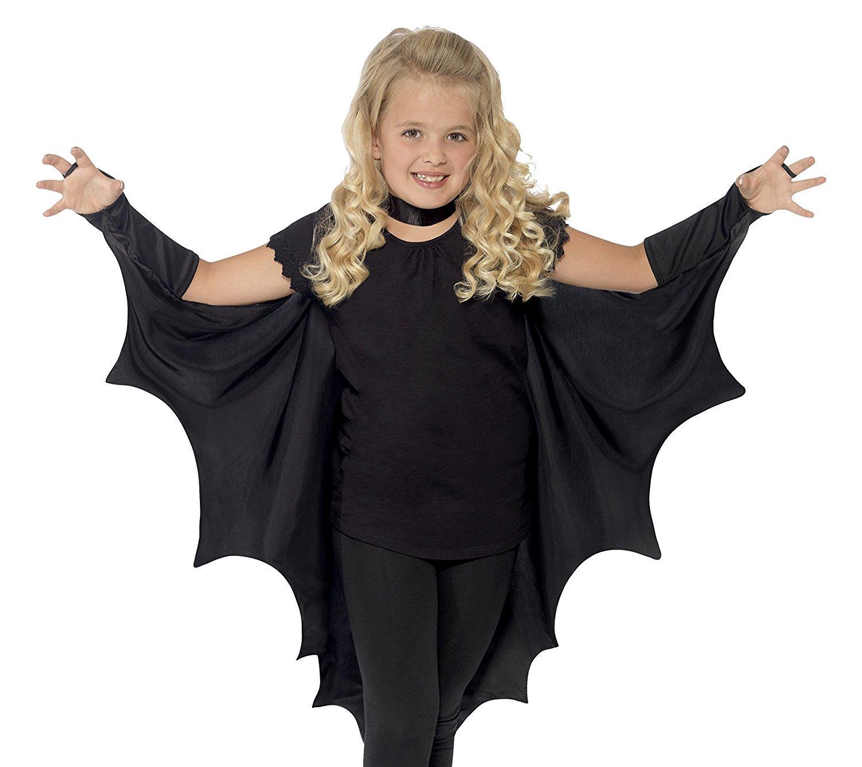 Vampire Bat Wings with High Collar NEW Black