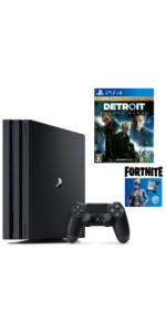 【プライムデー販売】PlayStation4 Pro フォートナイト ネオヴァーサバンドル + Detroit: Become Human セット