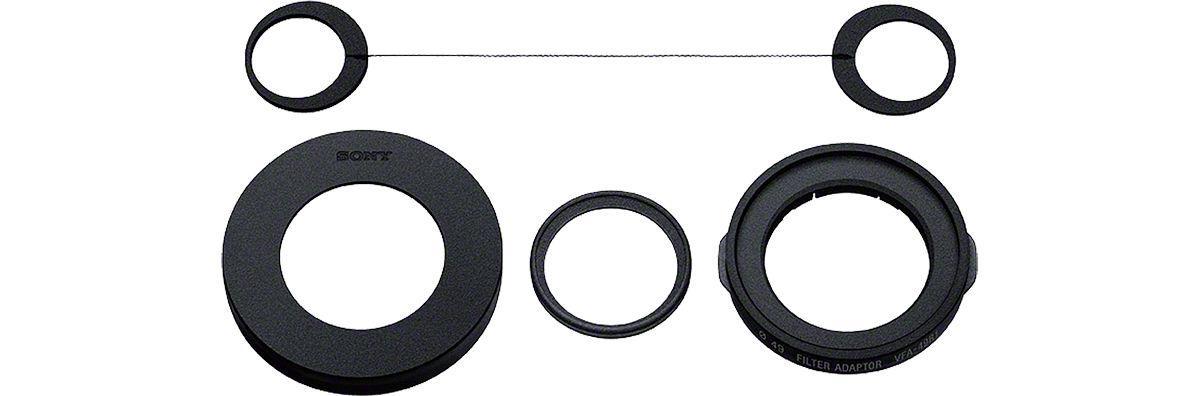Sony VFA-49R1 Adattatore per Filtro da 49 mm MC Nero