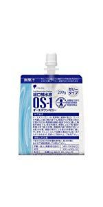 経口補水液 オーエスワンゼリーパウチ 200gx6袋x5(ケース)