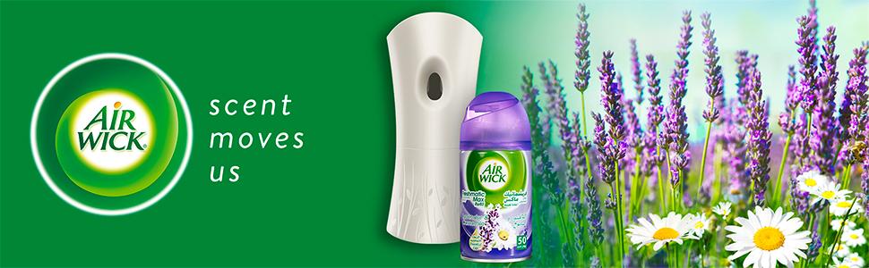 Airwick Lavender & Camomile Freshmatic Auto Spray Air Freshener Kit
