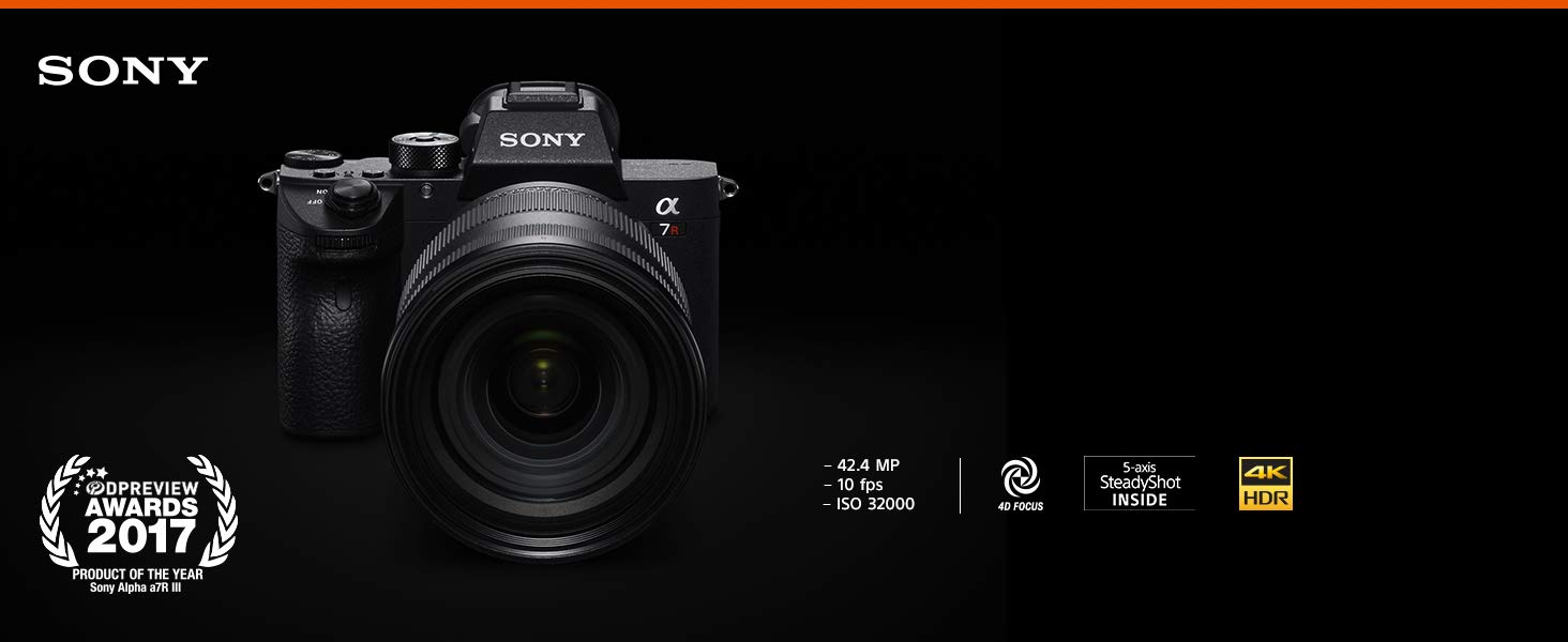 Sony Alpha a7R III Full Frame Mirrorless Camera - Body Only