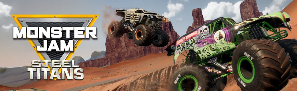monster truck;monster jam;thq nordic;playstation;xbox;ps4;xb1