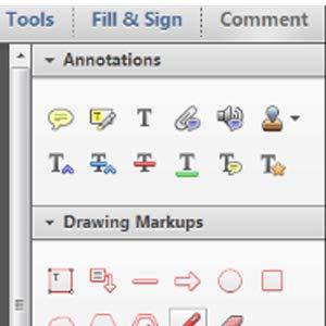 Annotation at PDF
