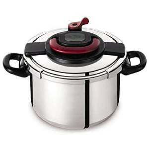 Tefal Stainless Steel Clipso + Pressure Cooker 10 liter