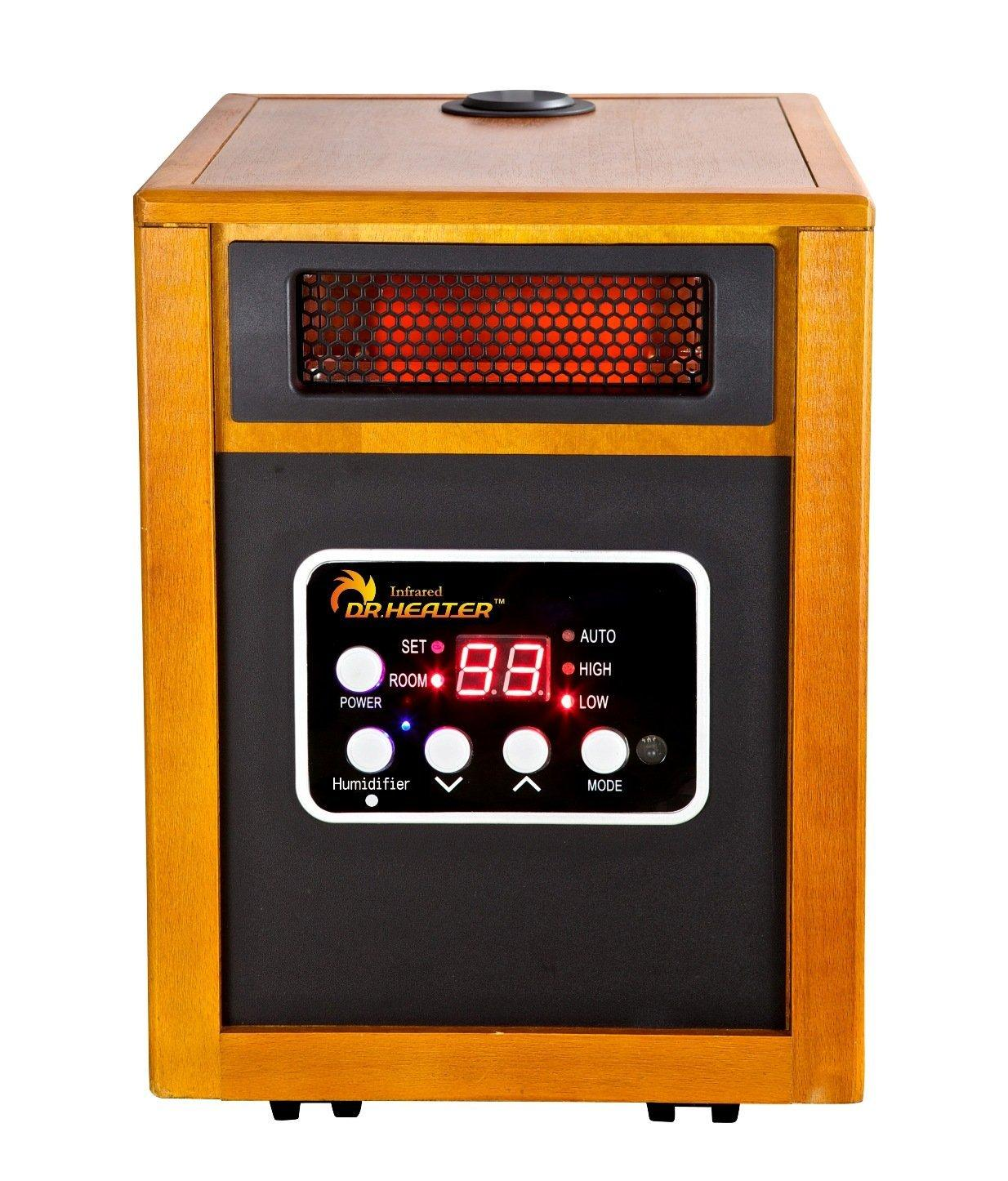 amazon com dr infrared heater portable space heater with