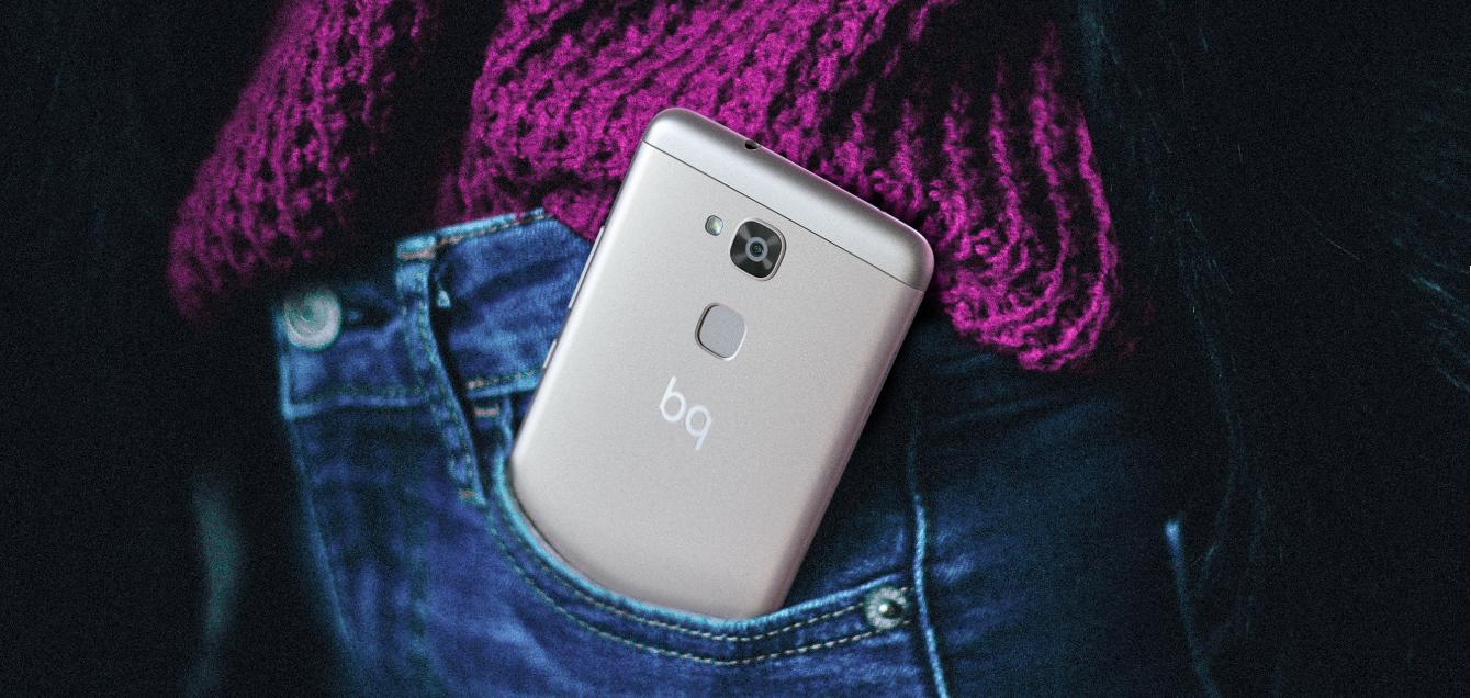 "BQ Aquaris V - Smartphone de 5.2"" (WiFi, Qualcomm"