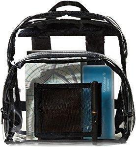 f32c61dbac AmazonBasics Mini sac à dos conforme aux normes des stades ...