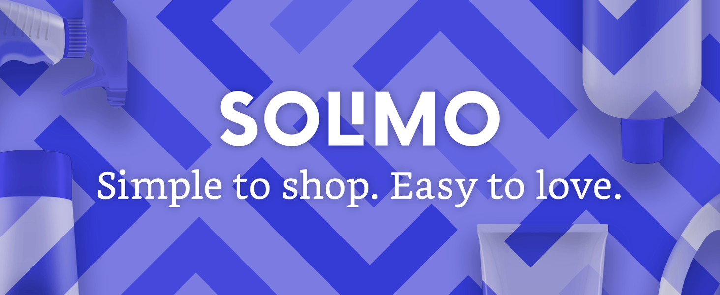 Solimo; Simple to shop, Easy to leave