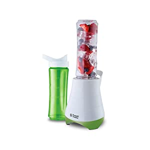 Russell Hobbs 300W 600ml Mix and Go Personal Blender Smoothie Maker, 21350-56