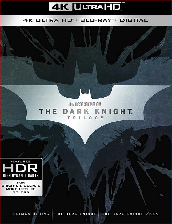 Dark Knight Trilogy Collection UHD BD BIL 4K Ultra HD Blu Ray
