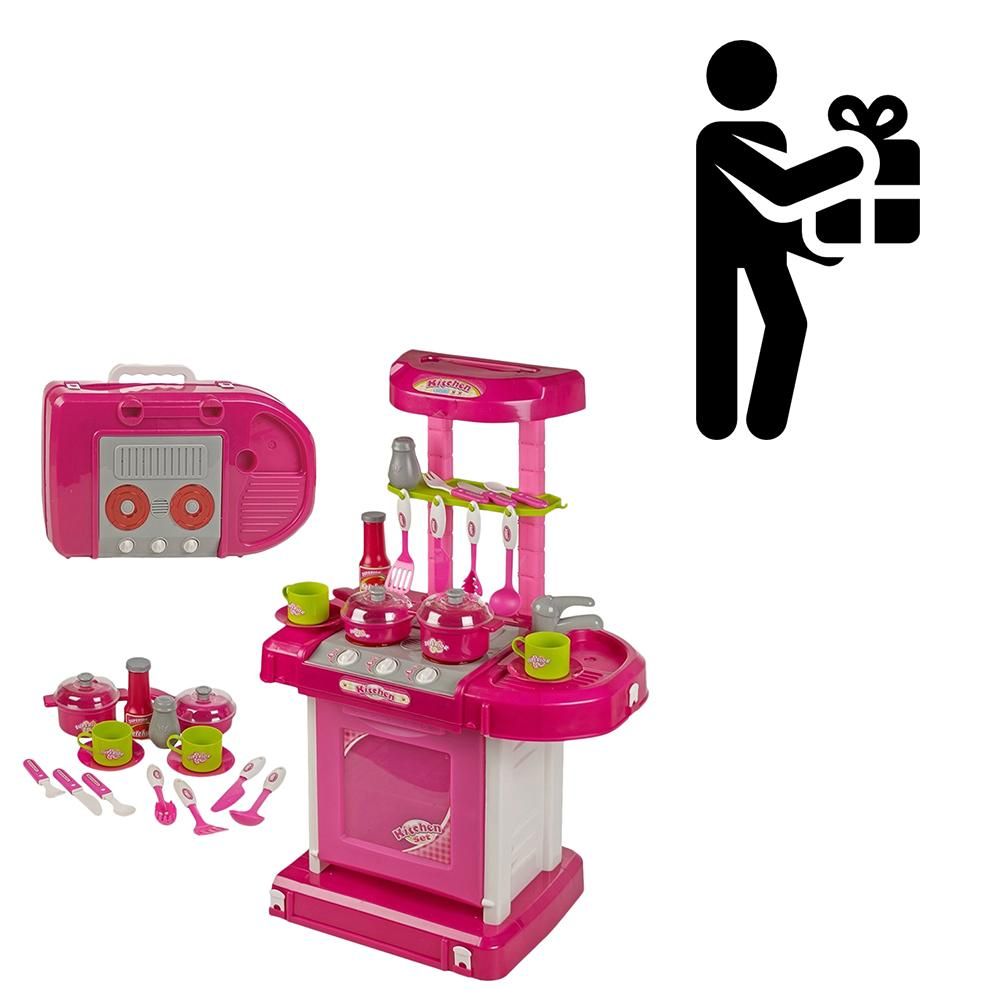 Kitchen Set Toys Online India: Buy JVM Luxury Battery Operated Kitchen Play Set Super Toy