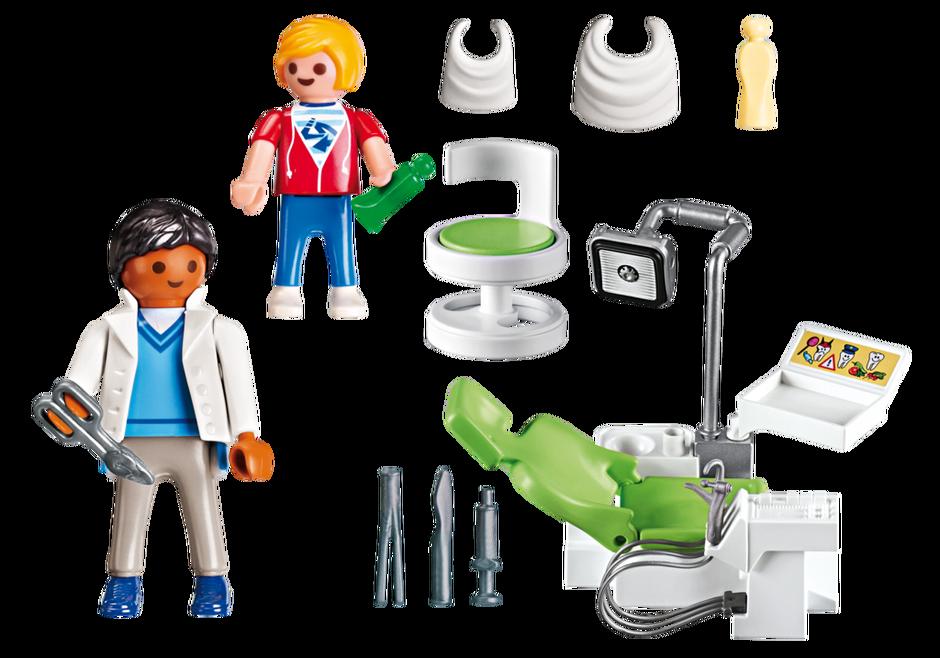 Playmobil Dentista con Paciente 6662: Amazon.es: Juguetes