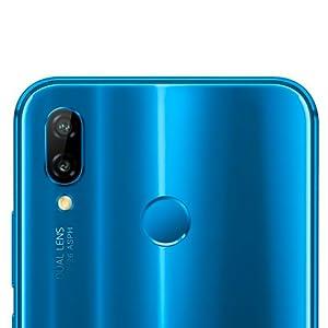 Huawei Nova 3e Dual SIM - 64GB, 4GB RAM, 4G LTE, Klein Blue: Amazon