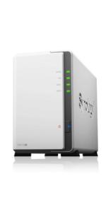 Synology シノロギー DiskStation DS218j 2ベイ NAS キット 日本正規代理店アスク サポート対応 デュアルコアCPU搭載 保証2年 CS7088