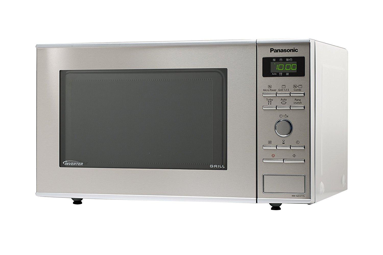 Panasonic NN-GD371SEPG - Microondas (950W, 23 litros), color ...