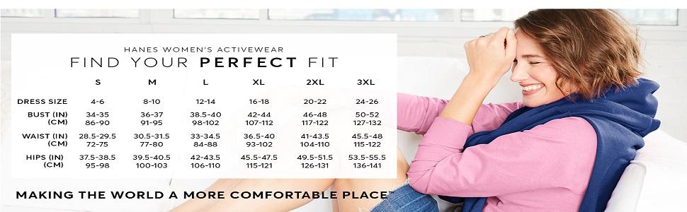 Hanes - Pantalones para mujer 10