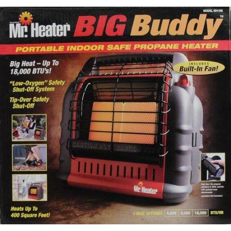Amazon.com: Mr. Heater F274830 MH18BRV Big Buddy Grey