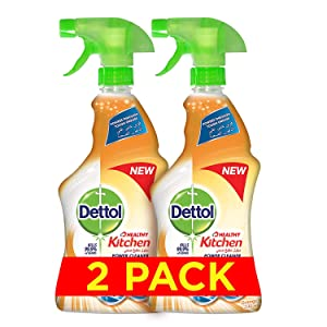 Dettol Healthy Kitchen Power Cleaner Trigger Spray - Orange