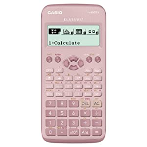 Casio fx-83GTX Calculadora científica Rosa