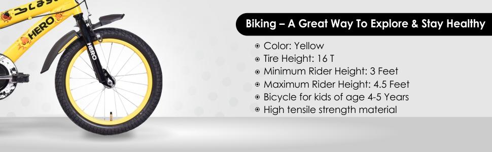 hero blast Kids bicycle india online