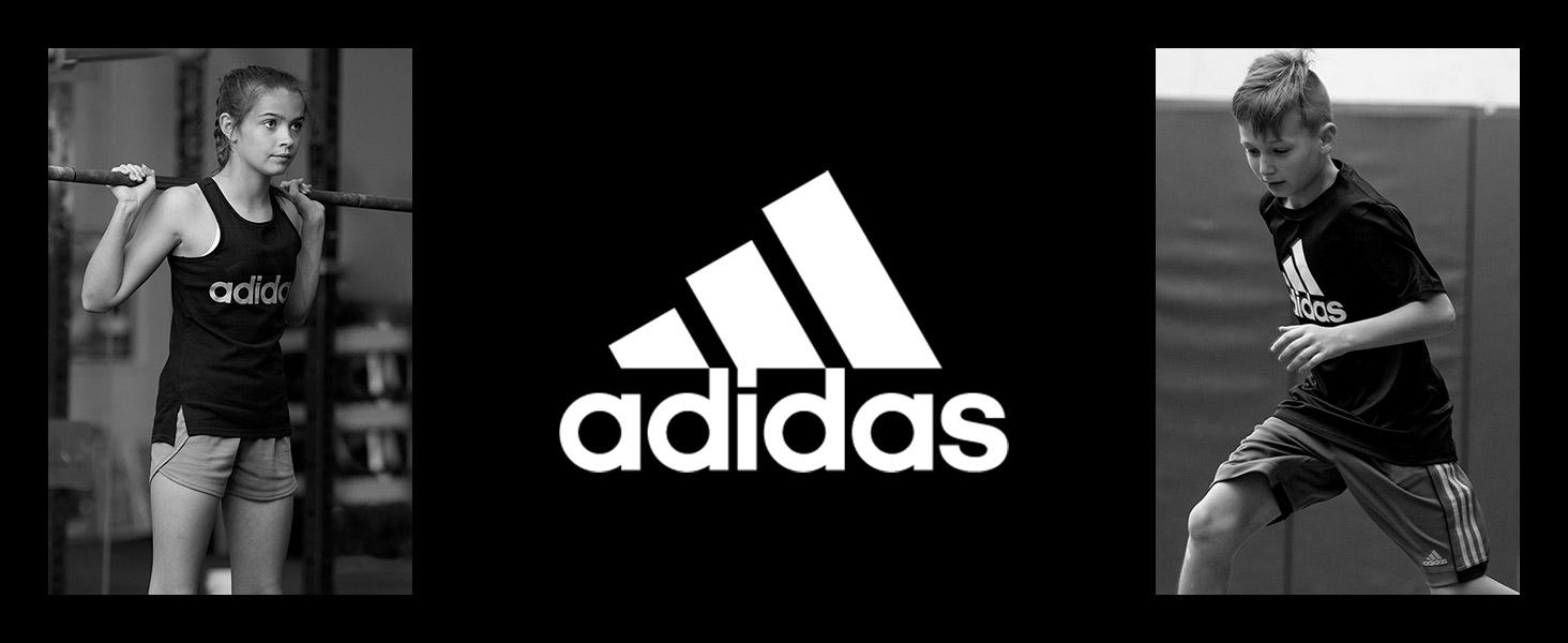 adidas Kids Boy's Graphic Tee (Little