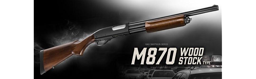東京マルイ M870 ウッドストックタイプ 18歳以上ガスショットガン