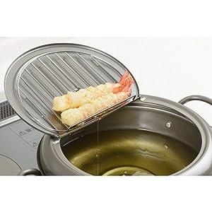 天壱 フタ付天ぷら鍋