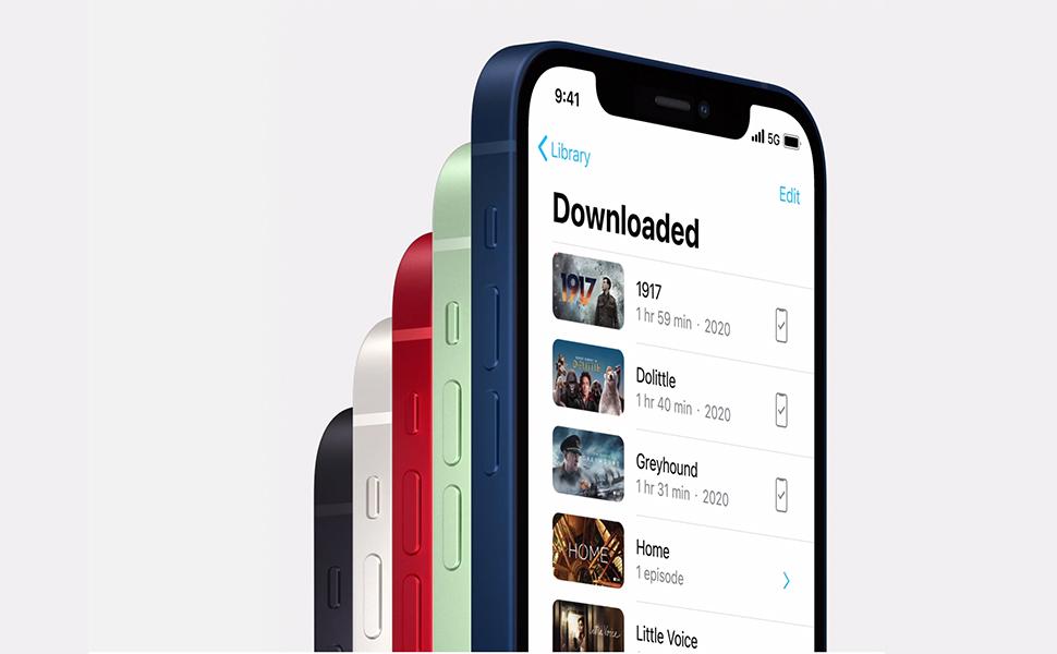 Apple iPhone 12 128GB 4 GB RAM Dual Sim, Black