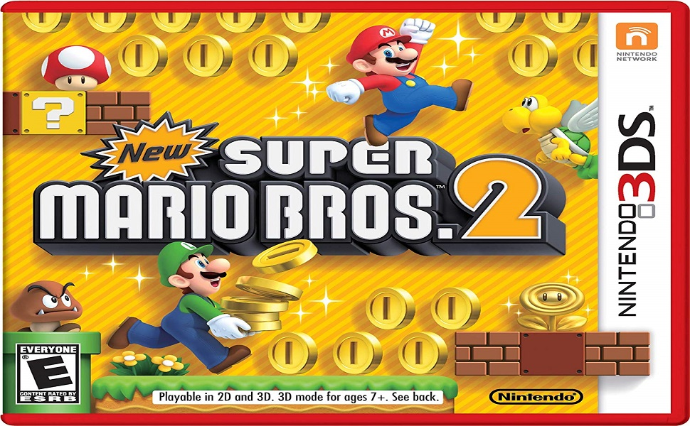 Amazon Com New Super Mario Bros 2 Nintendo Of America Video Games