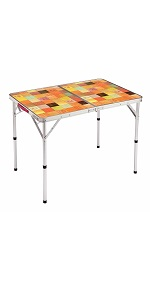 コールマン(Coleman) テーブル ナチュラルモザイクリビングテーブル 90プラス 2000026752