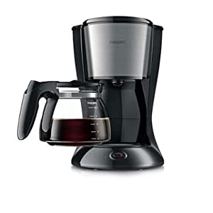 Philips Daily Collection Coffee Maker Black, HD7457