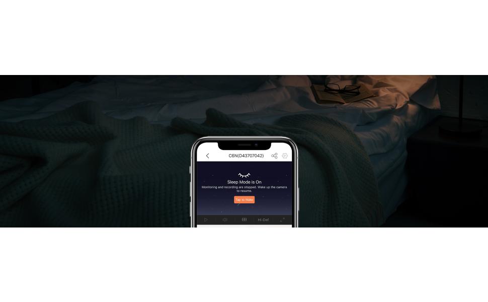 Ezviz C1T Smart Indoor WiFi Camera FHD 1080