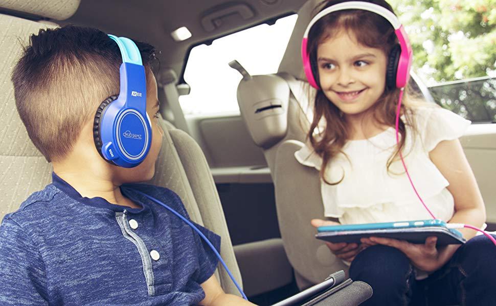KidJamz kids in car
