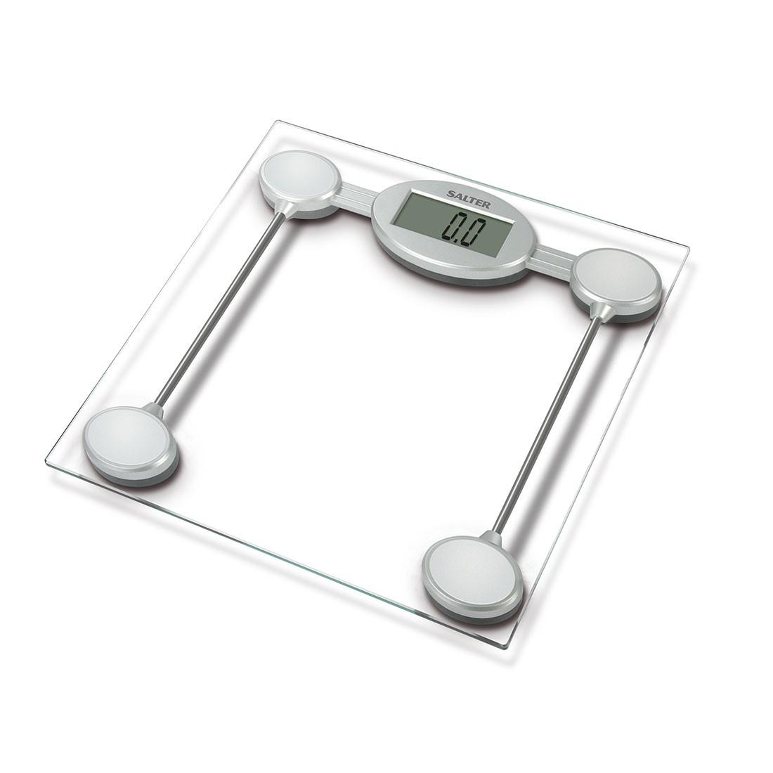 Salter Digital Bathroom Scales Electronic Body Weighing Metric Kg Imperial Lb Toughened