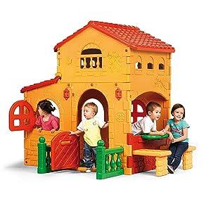 FEBER - Casita infantil para el jardín, Grande Villa (Famosa ...