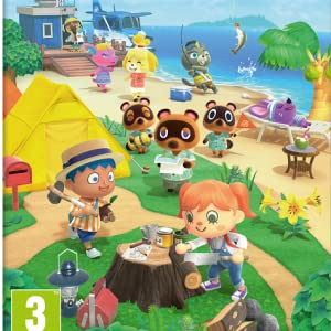 Animal Crossing: New Horizons (Nintendo Switch) + Pin Isabelle ...