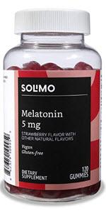 Solimo Melatonin 5mg Gummies