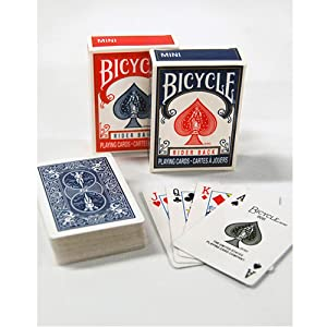 Single Deck Bicycle Mini Decks Playing Cards Color May Vary