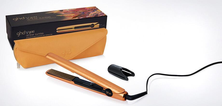ghd V Gold Professional Classic Styler + neceser. Plancha de pelo amber  wanderlust. Ampliar ba2e504bd1a2