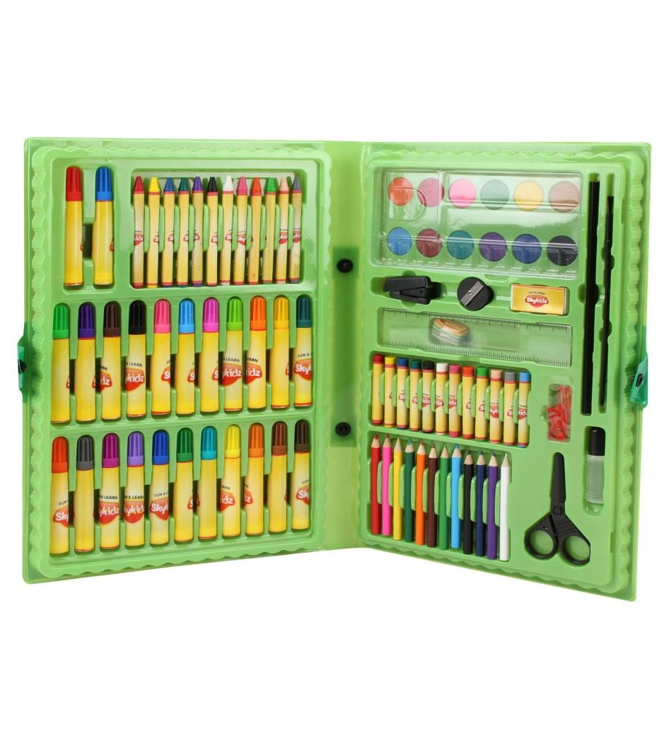 Buy Mitashi Jumbo Art Set, Multi Color Online at Low Prices in India ...