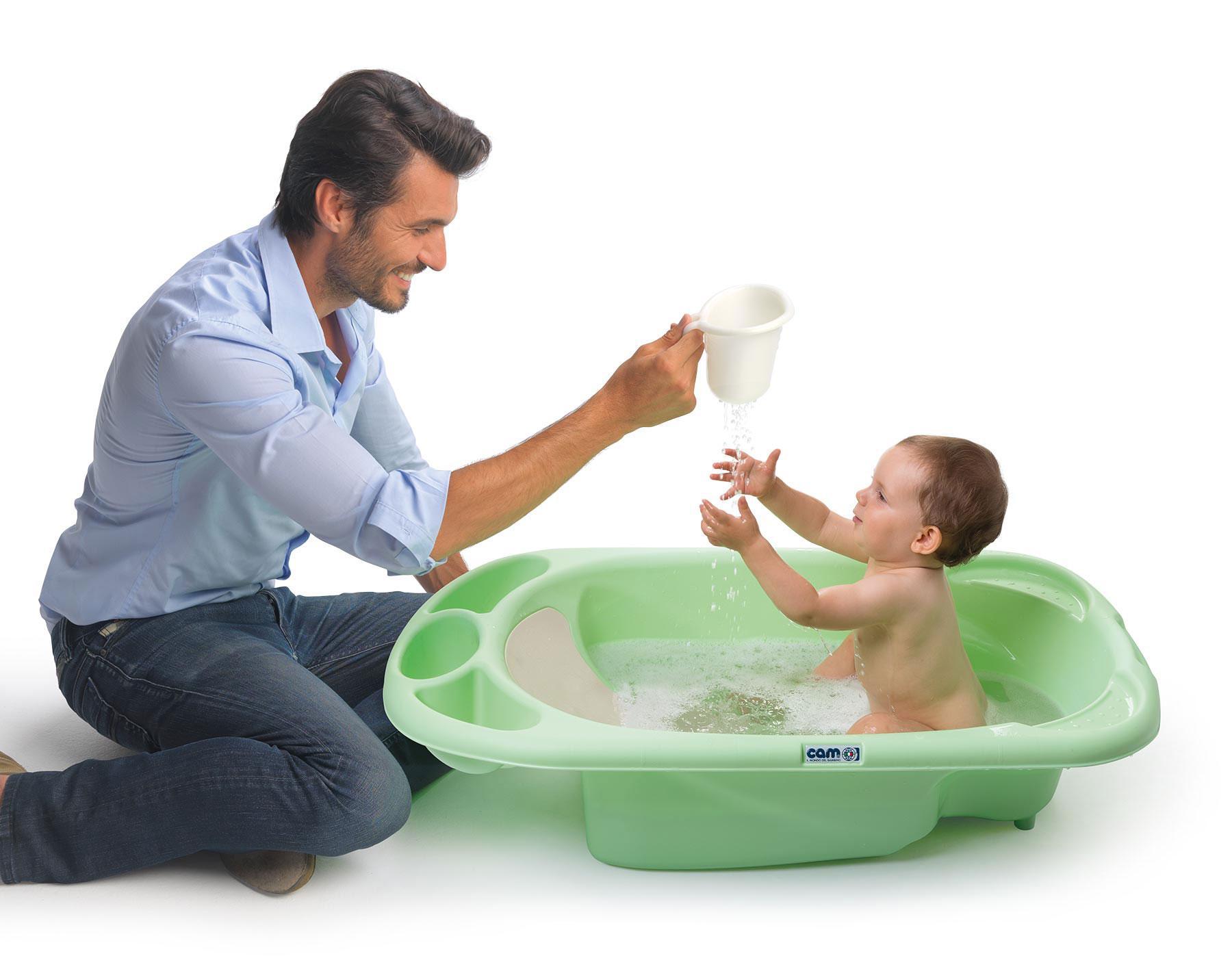 Cam il mondo del bambino c090 u48 vaschetta baby bagno arancio prima infanzia - Vaschetta bagno bimbi ...