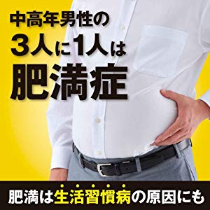 肥満者急増 肥満は生活習慣病の原因に