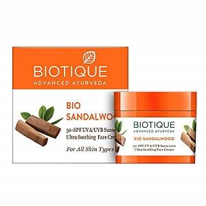 Biotique Bio Sandalwood Sun Cream