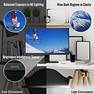 BenQ GW2480 23.8 Inch FHD 1080p Eye-Care LED Monitor
