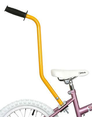 Bike Trainer Handle Yellow Bicycle Training Wheels