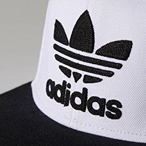 6e65aacdbab Amazon.com  adidas Men s Originals Trefoil Chain Snapback Cap