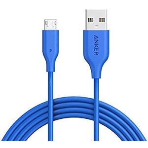 Anker Powerline+ Micro USB 3ft White Offline Packaging V3